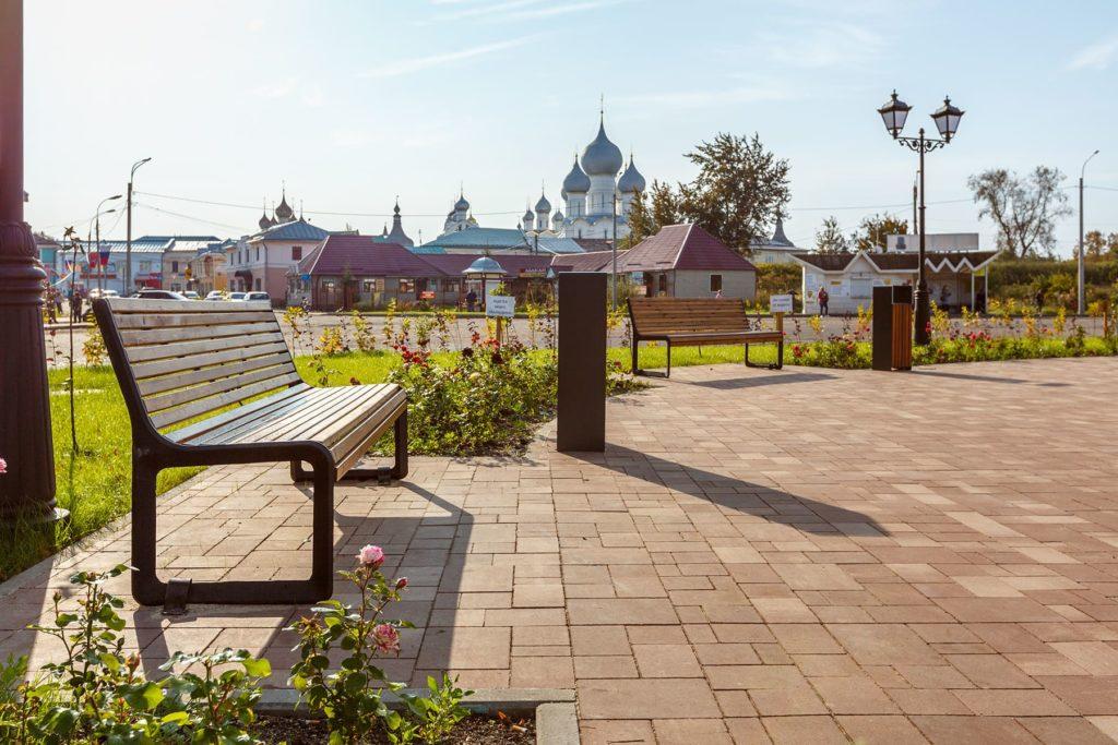 Колхозная площадь в Ярославле
