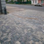 Тротуарная плитка СИЯН БАВАРИЯ Сильвер